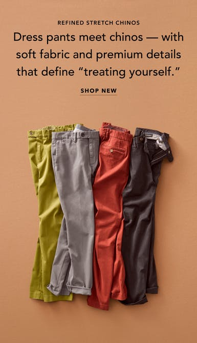 shop refined chinos