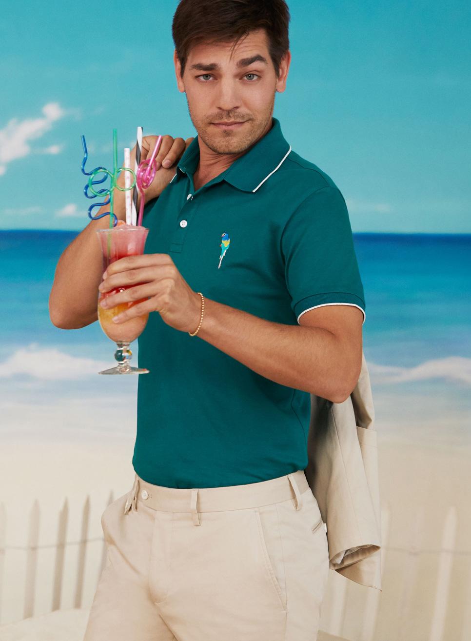image of Matt Rogers wearing a green polo