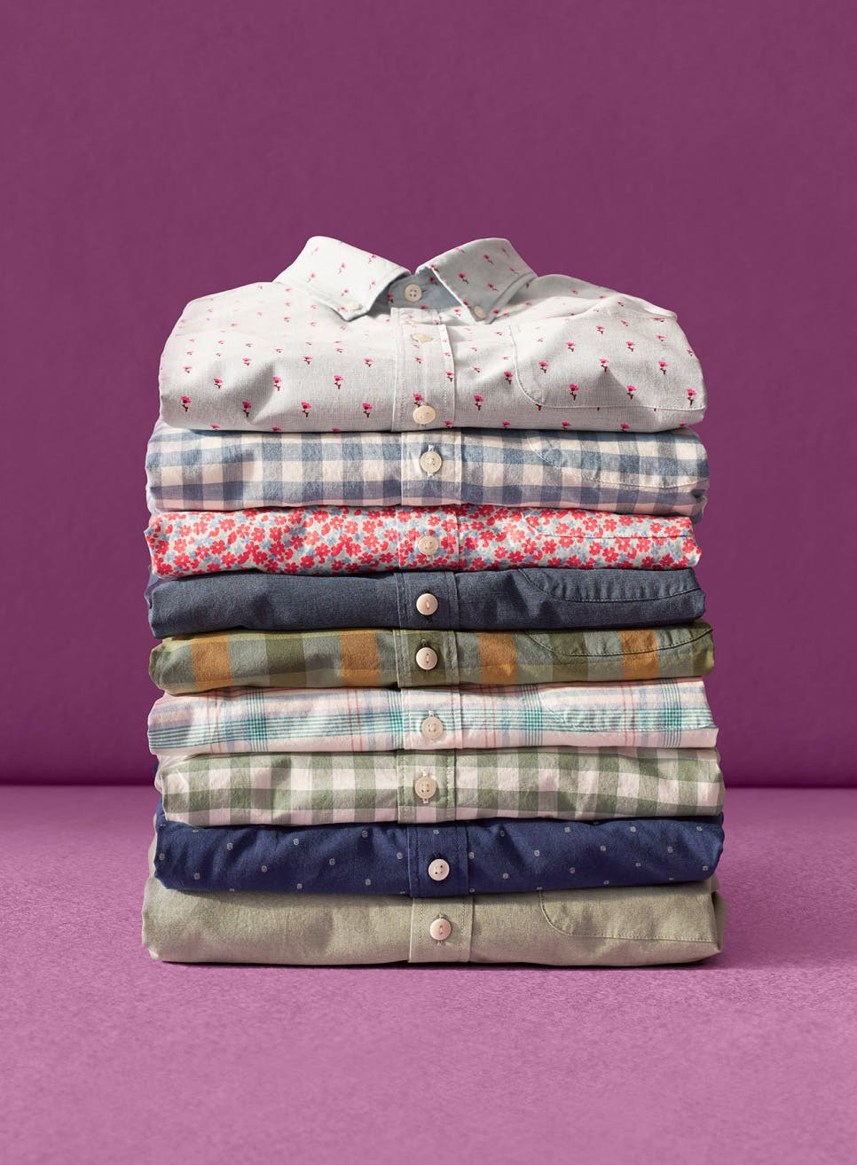 image of a stack of Shop Stretch Everyday Shirts