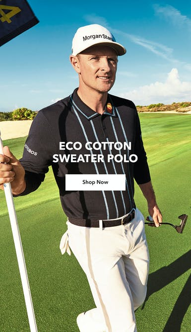 shop the navy eco cotton sweater polo