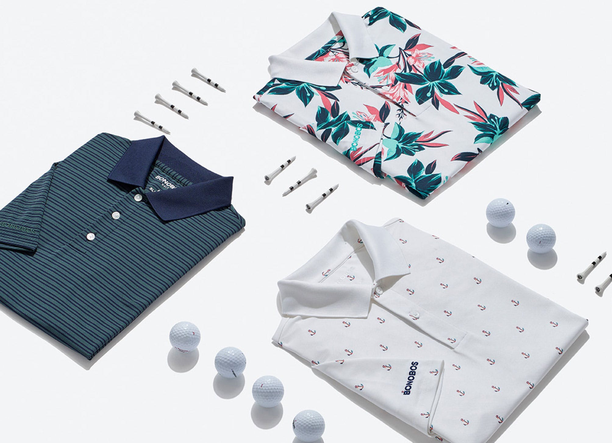 image of golf polos