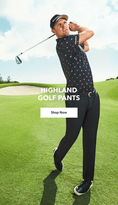 shop the navy highland golf pants