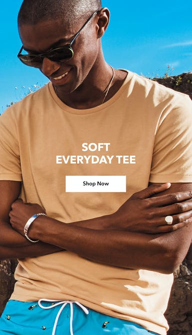 shop the soft everyday tee