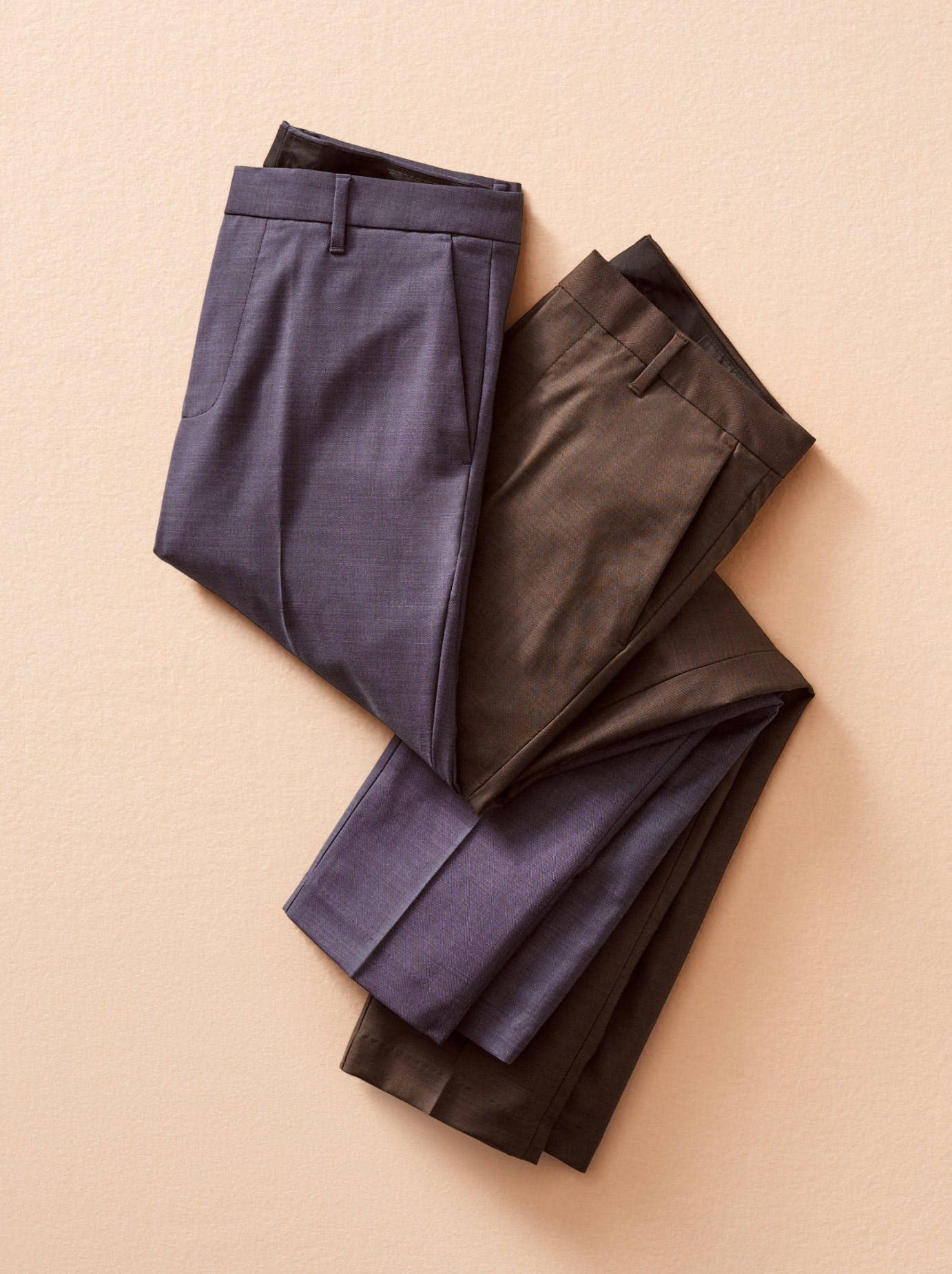 Image of two stretch weekday warrior pants
