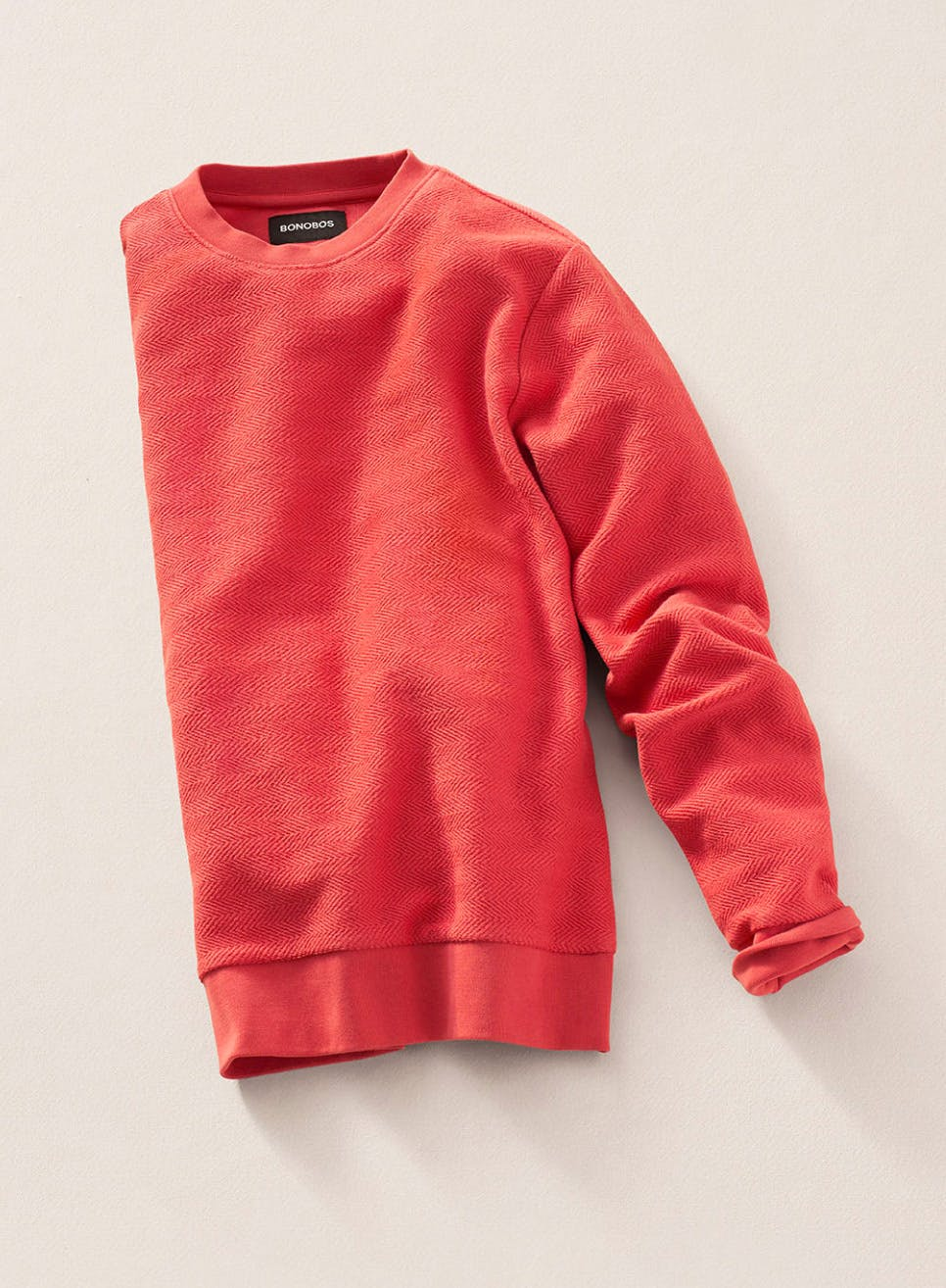 image of red sweater