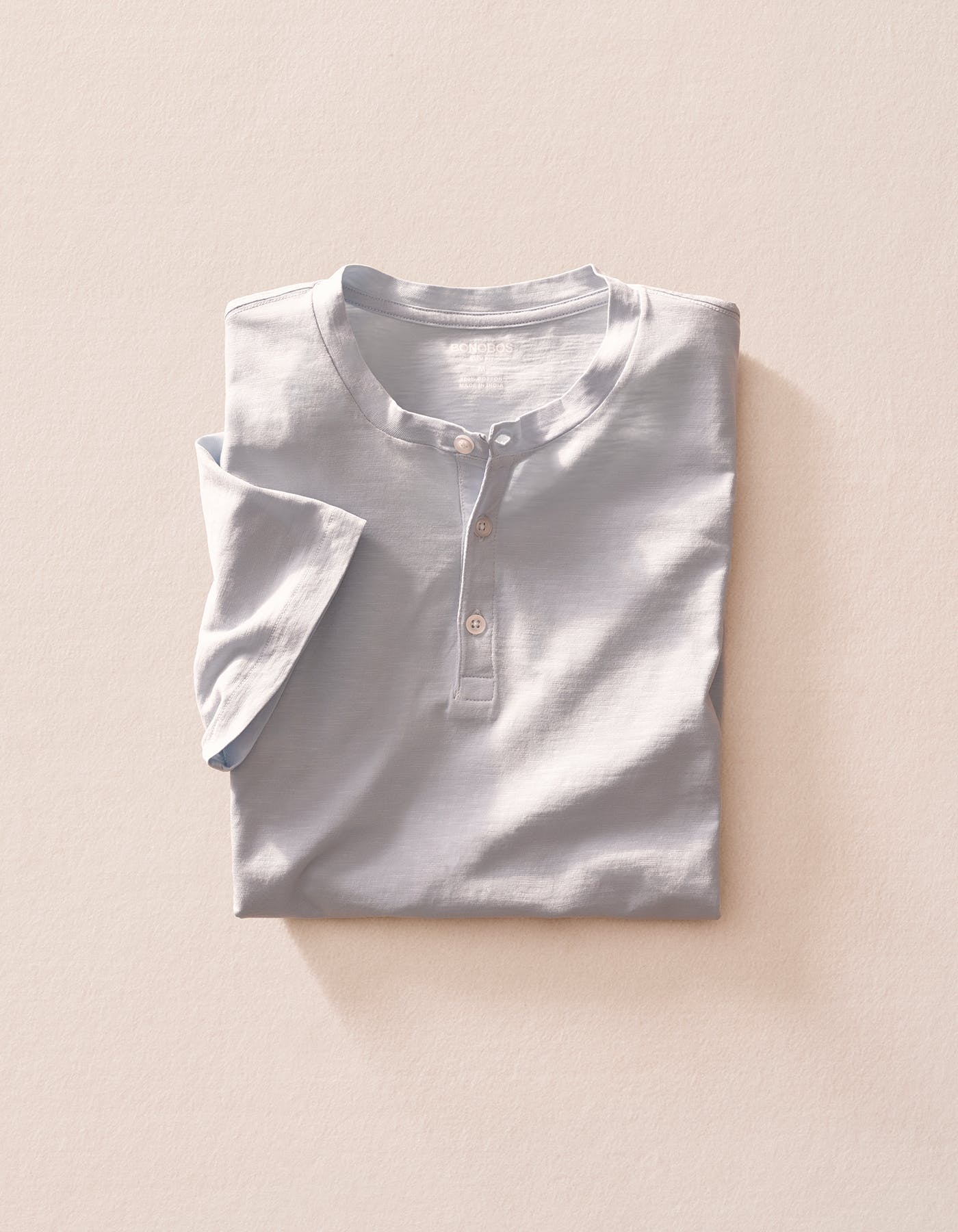 Image of a white henley