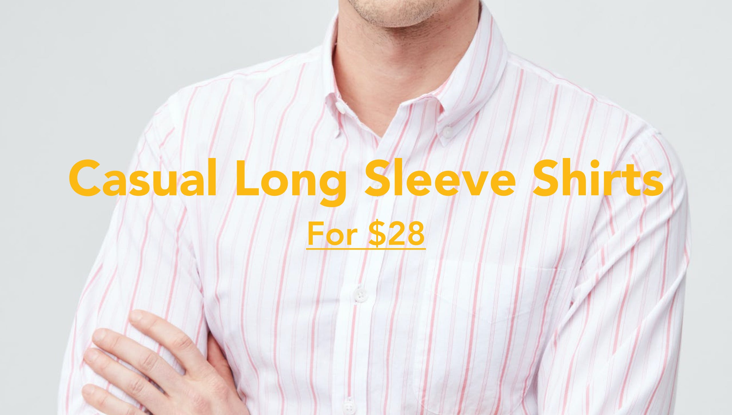 Casual Long Sleeve Shirts For $28