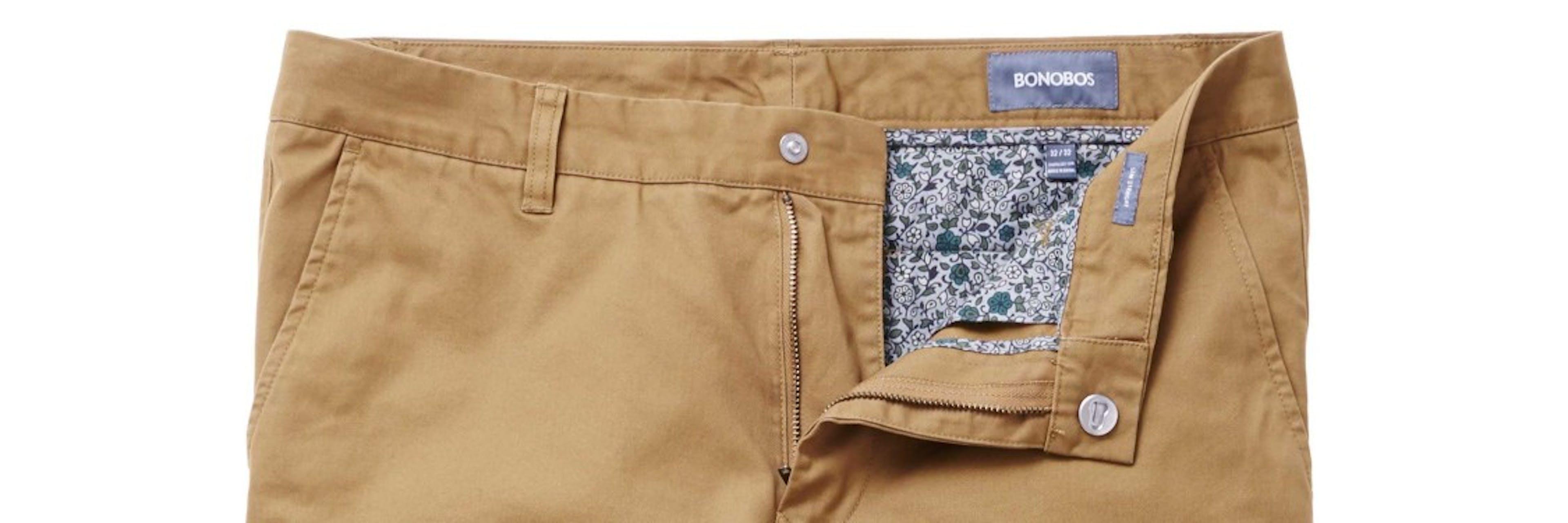 Image of Khakis waistband